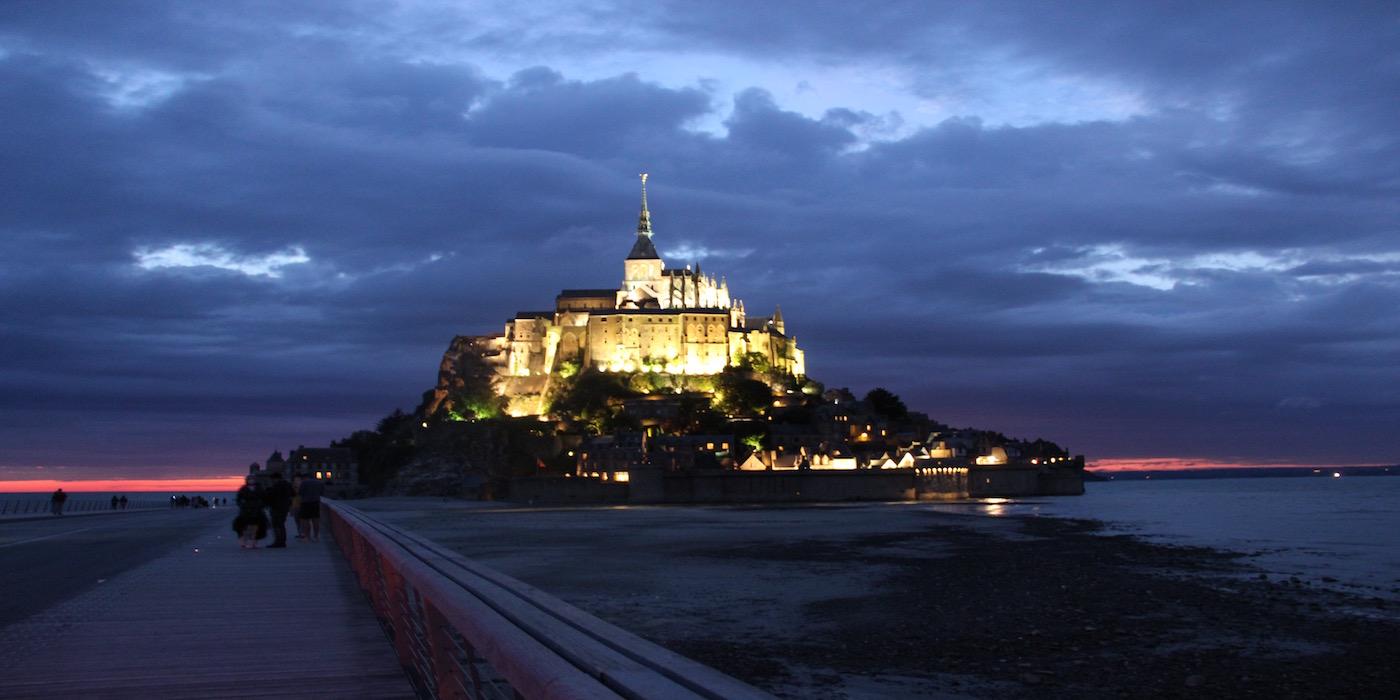 モンサンミッシェル(夜景)